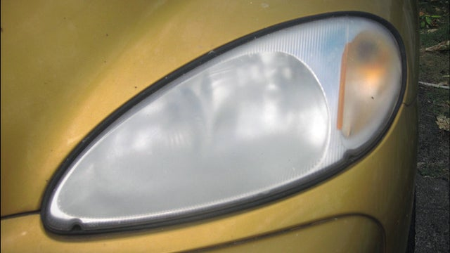 Restore Hazy Headlights with Sandpaper and Polish