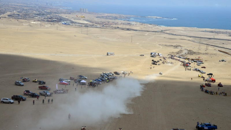Earthquakes In Chile Won't Stop The Dakar Rally, Yet