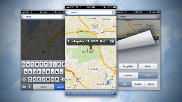 ClassicMap Puts Google Maps Back on Your iPhone (with Several Features Missing)