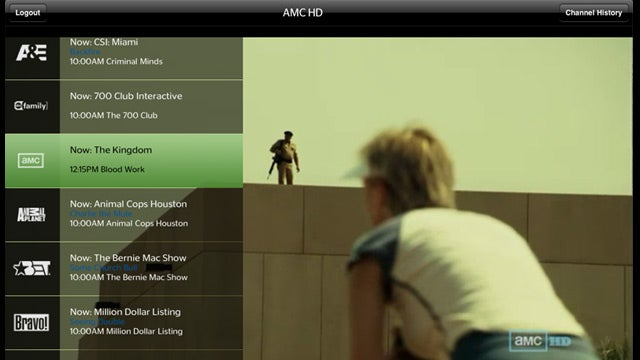 Time Warner's New iPad App Lets You Stream 32 Channels of Live TV