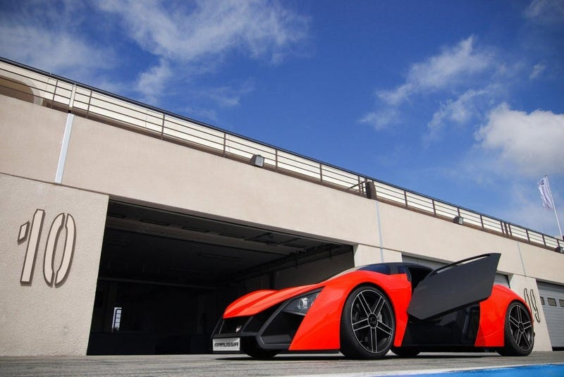 Marussia Supercar Can Circle Soviet-era Factory