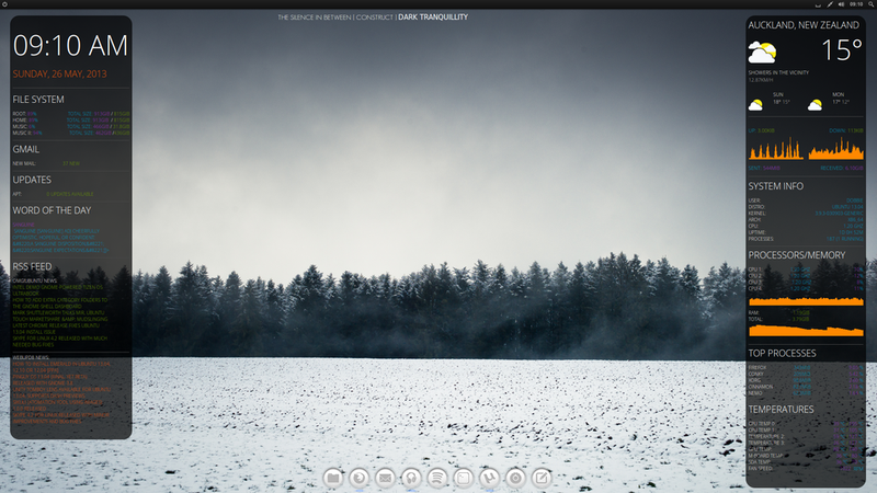 The Snowy Desktop