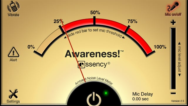 Awareness Keeps You Mindful of Your Surroundings, Even While Listening to Music