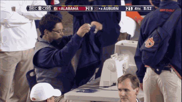 Auburn Has This One Sewn Up