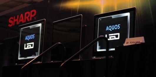 Sharp's Fanciest New TVs: The 4-Color LE920 Series