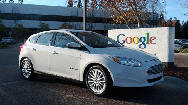 What Is Google Up To With Ford's First Electric Focus?
