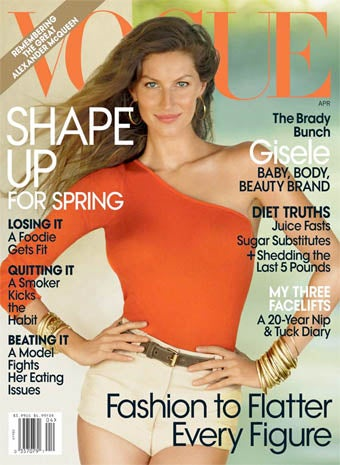 Gisele's Vogue Cover Story Defies Comment