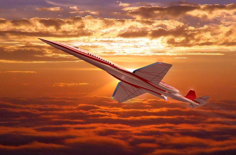 First Supersonic Private Jet Sold to Obviously-Very-Rich Guy