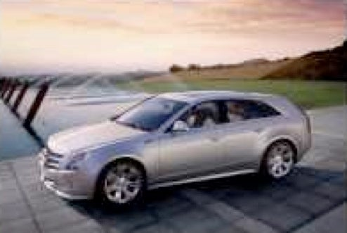 2010 Cadillac CTS Sport Wagon Pictures, Details Leaked?
