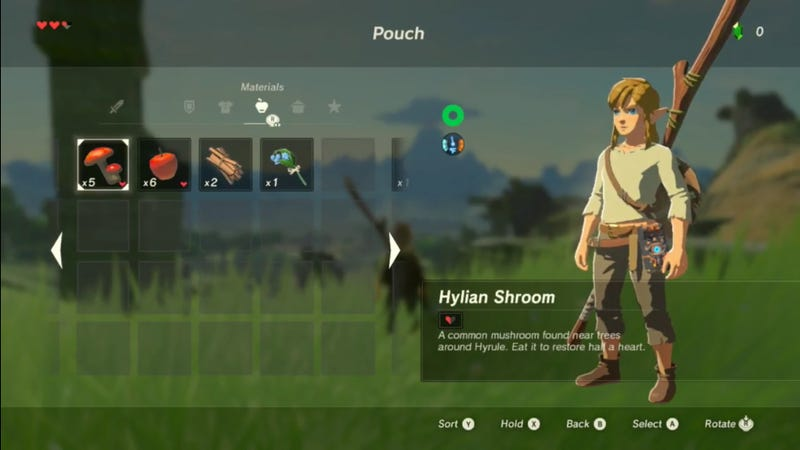 Our First Look At The New Zelda,Breath of the Wild