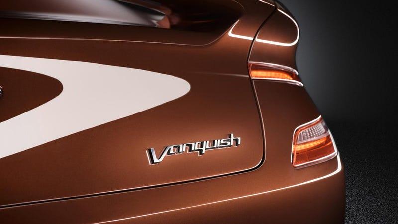 Aston Martin AM 310 Vanquish: Straight Up Car Porn