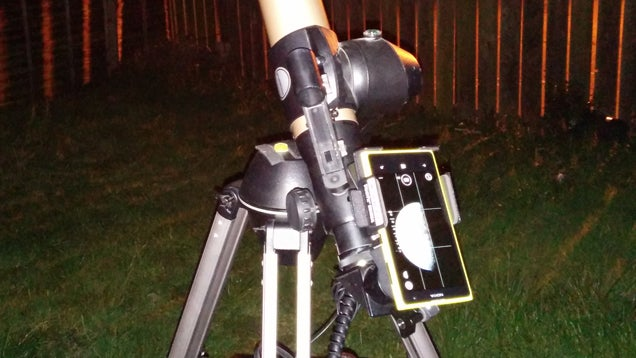 Take Awesome Astronomy Photos with a Smartphone and a Telescope