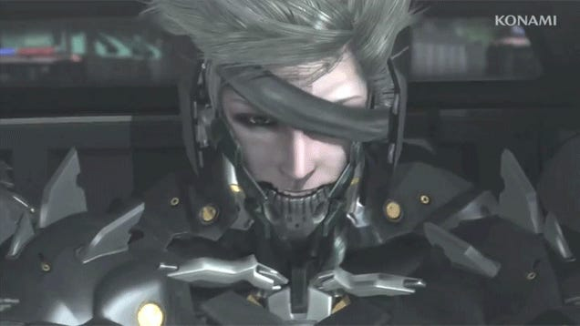 6 GIFS of Raiden Looking Cool in Metal Gear Rising: Revengeance