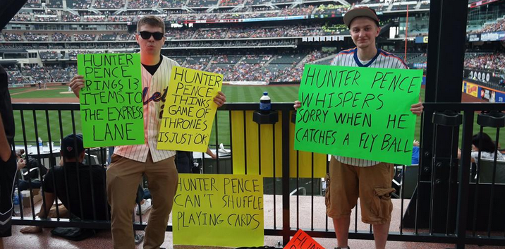 Mets Fans Are Back With More Sick Burns On Hunter Pence