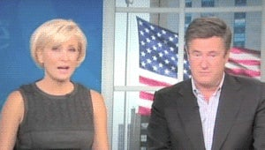Joe Scarborough Cannot Stop Interrupting Mika Brzezinski