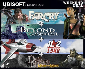 Steam Weekend Deal: Four Ubisoft Classics For $10