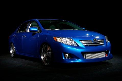 2009 Toyota Corolla Unveiled
