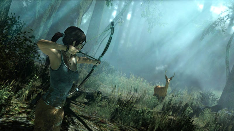 Tomb Raider's Publisher Wants You to Shoot Arrows At New York Comic-Con. What Could Go Wrong?