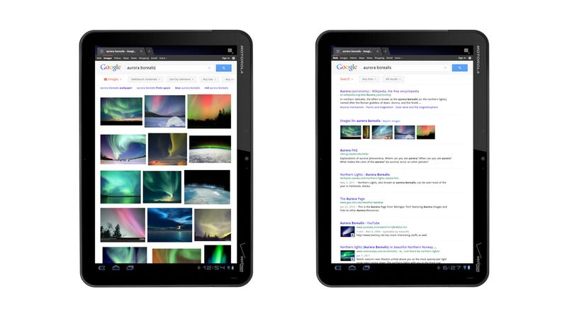 This Is Google's Big and Beautiful New Search for Tablets