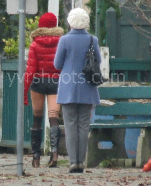 Once Upon a Time Set Photots