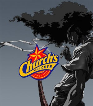 Church's Chicken Hypes Afro Samurai