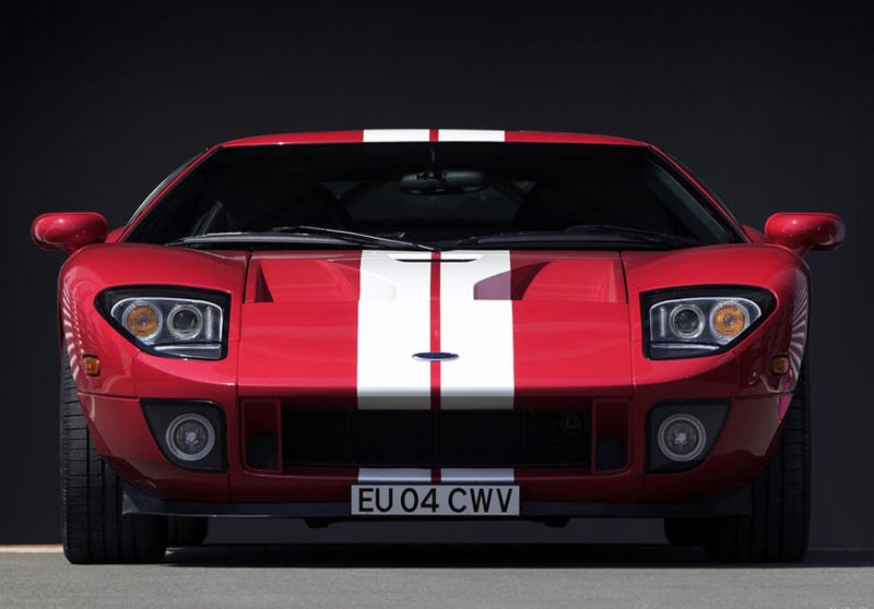 The Ford GT Has A...