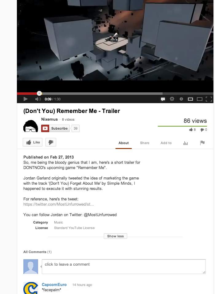 Don't You Forget About This Fan-Made Remember Me Trailer