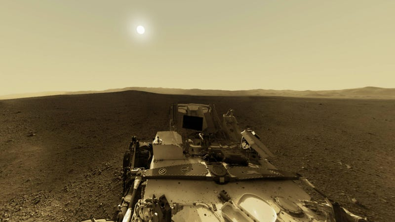 NASA's Curiosity Rover Has a Special Message for You This New Year