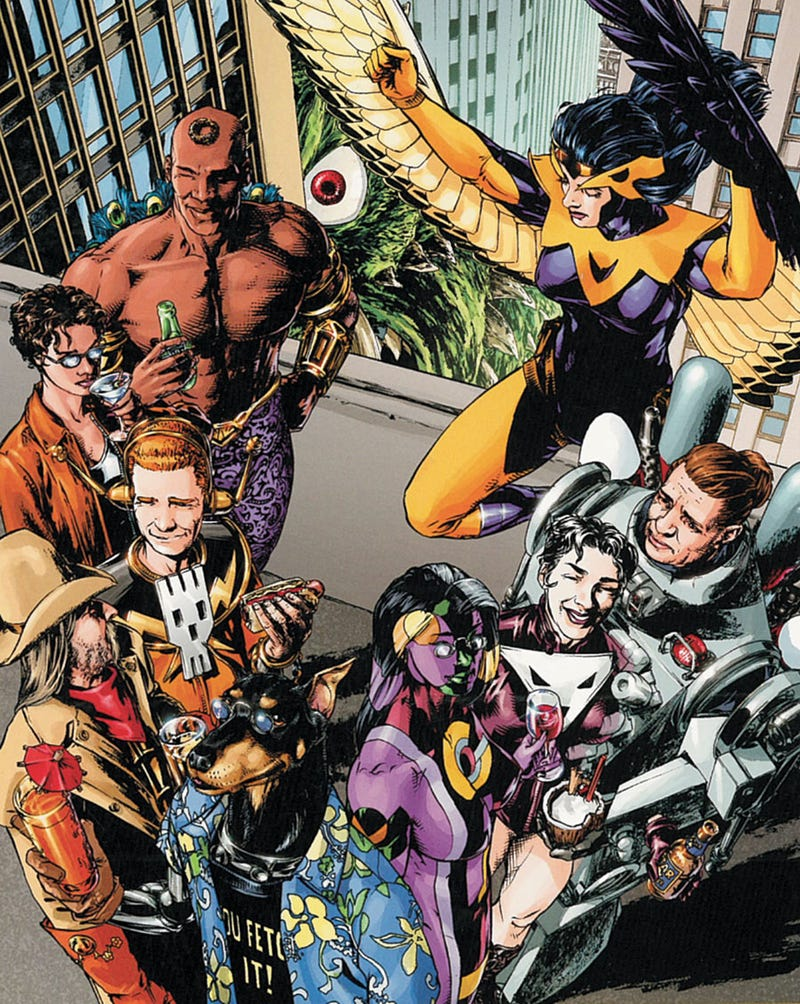 Over Two Dozen Reasons To Get Jazzed About Comic Books This Fall