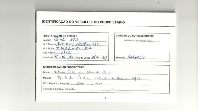 Now You Can Own Ayrton Senna's NSX