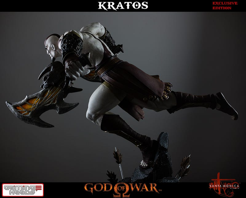 New Kratos Figure Has One Hell Of A Scowl