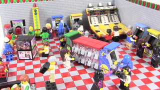 LEGO Arcade Room Has All The 80s Classics