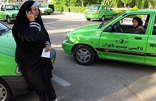 For Iranian Women, Cars Represent Both Limitations And Freedoms