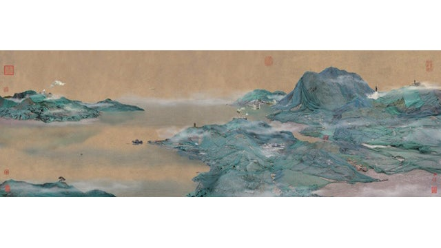 These serene Chinese landscapes are actually photographs of landfills