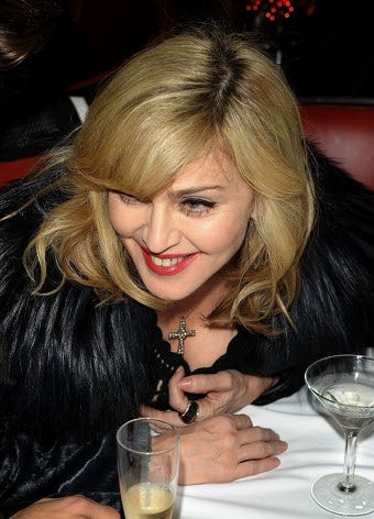 Madonna Gets Her Dame On At A Single Man