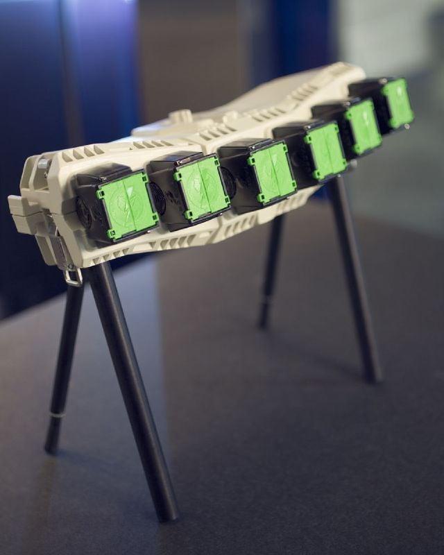 Taser's Shockwave Cannon Array Like Many Little Bottles of Lightning Bolts
