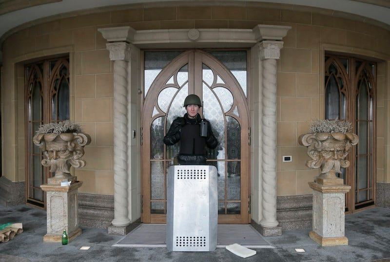 Tour the Opulent, Evacuated McMansions of Ukraine's Fallen Leaders