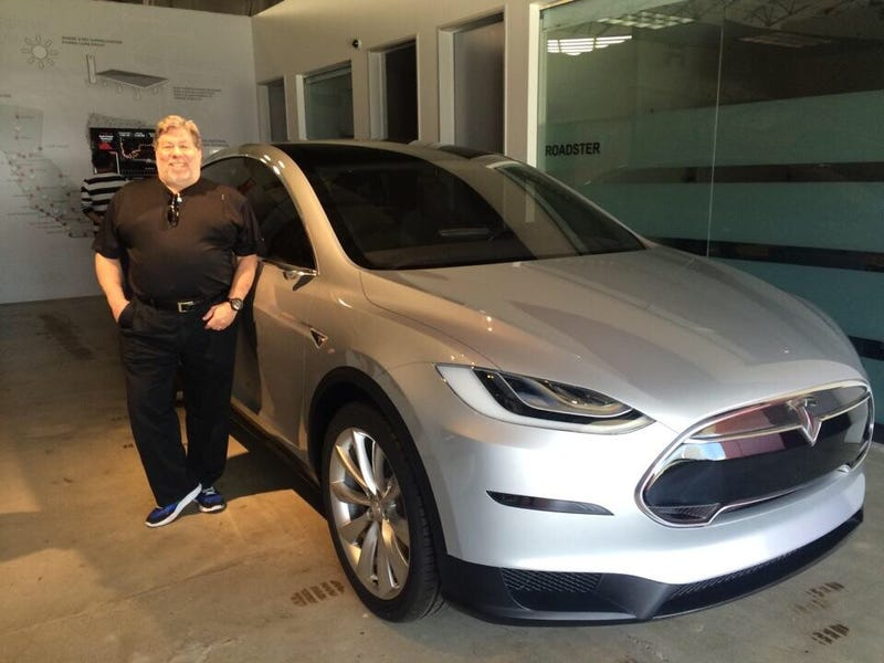 Did Woz get the first Model X?
