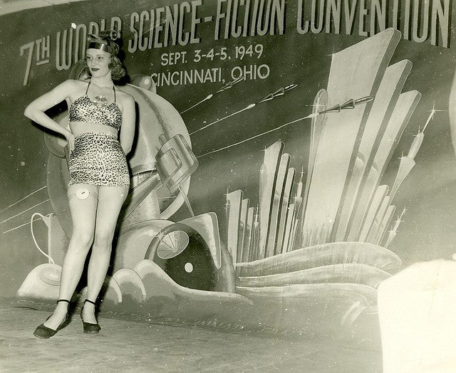 A treasure trove of amazing photos of conventions and SF events from the 1920s onwards