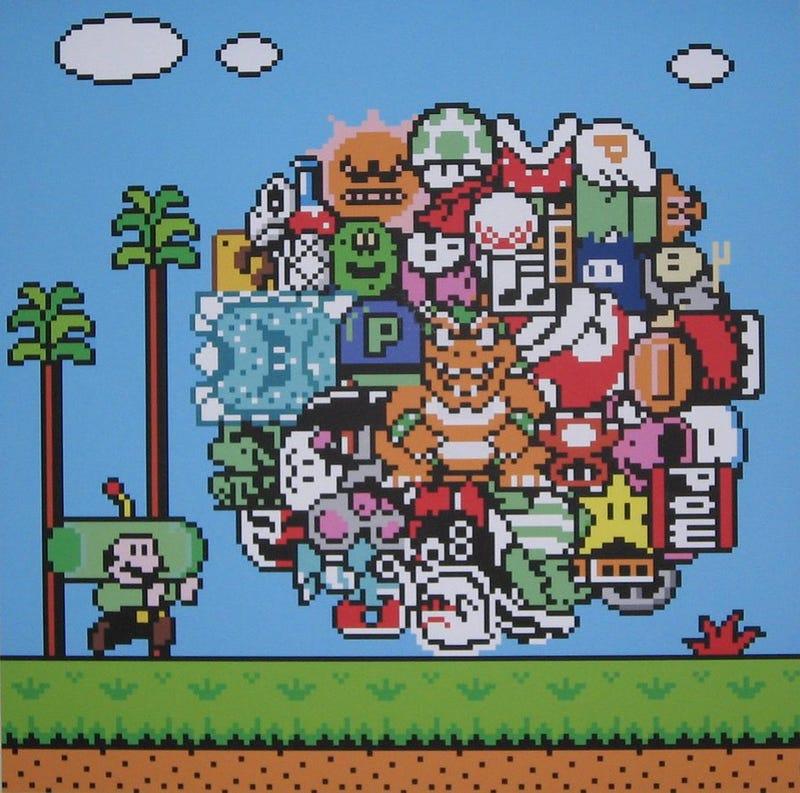 Katmari Damacy + Mario = Katamario