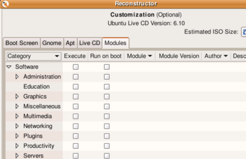 Roll your own Ubuntu live CD with Reconstructor