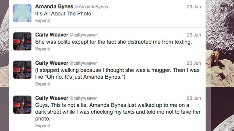 Amanda Bynes Appeared to Me Under the Supermoon Late Saturday Night