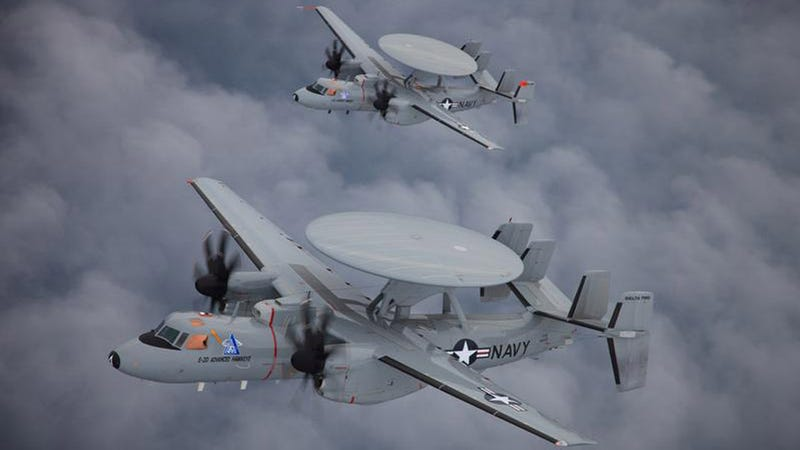 The E-2D Hawkeye Is Overlord of America's Supercarriers