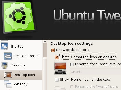Easy Desktop Customization with Ubuntu Tweak