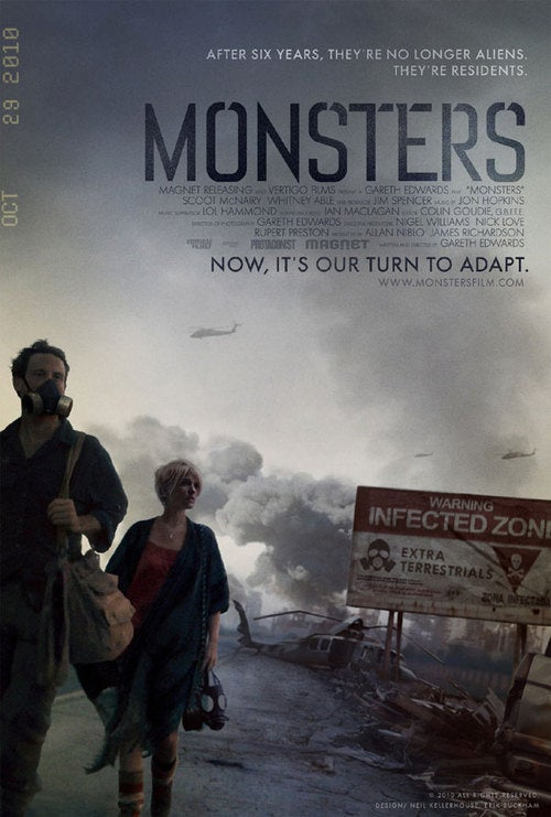 Monsters US Poster Gallery