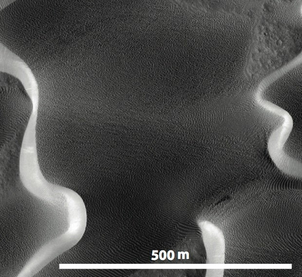Researchers Spotted Something Very Strange in the Sands of Mars
