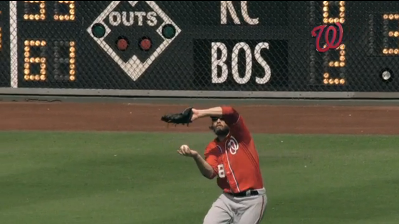 Jayson Werth's Glove Is Just For Show