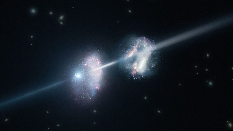 Faraway gamma-ray burst reveals what the most ancient galaxies were made of