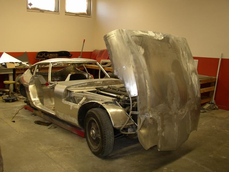 Aluminum Magician Makes Beautiful Toyota 2000GT Body