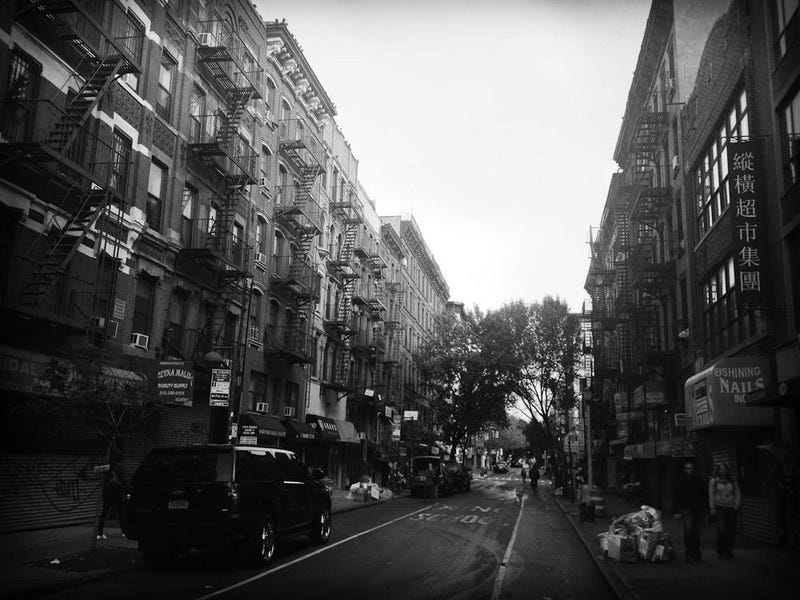 These Black And White Photos Of Lower Manhattan After The Storm Are Deeply Haunting